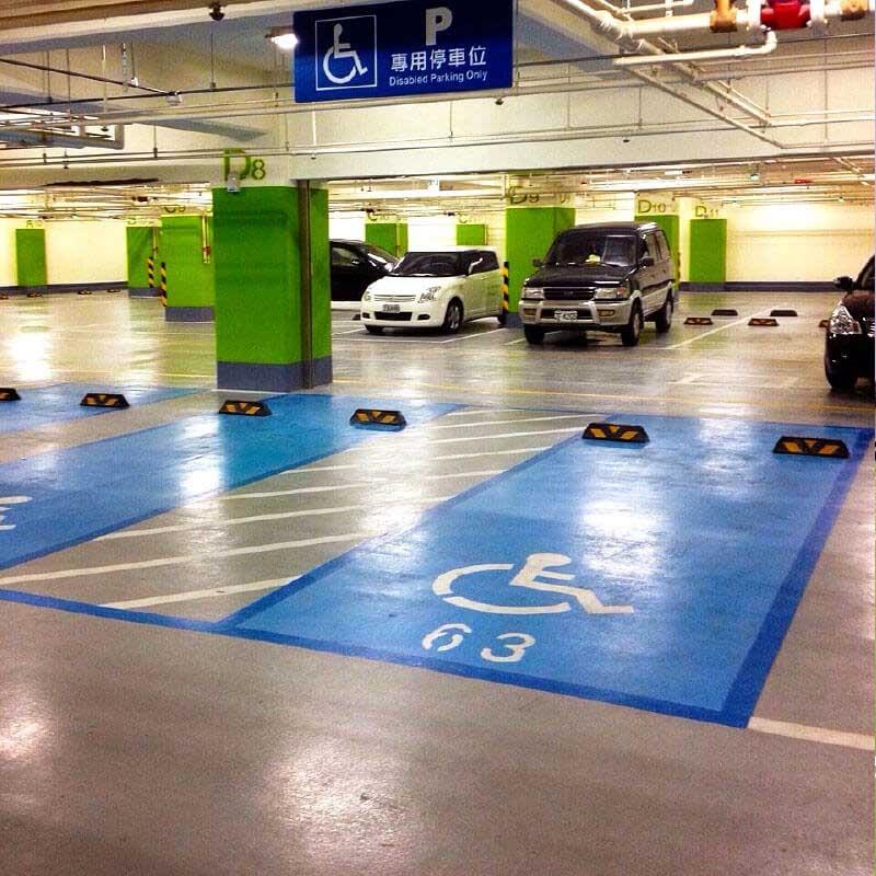 無溶劑型環氧樹脂停車場地面塗層(UNICOAT)